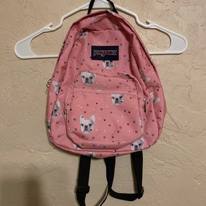 Jansport Dog print mini backpack!